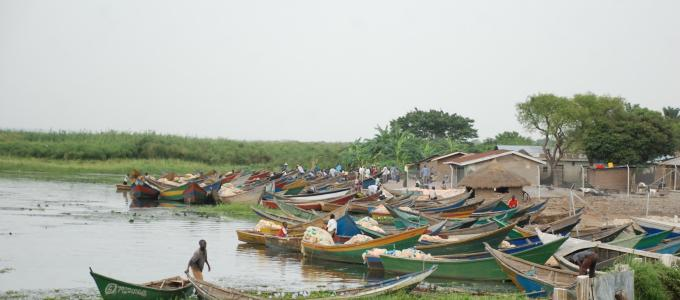 Fishing is the main economic activity in Buliisa